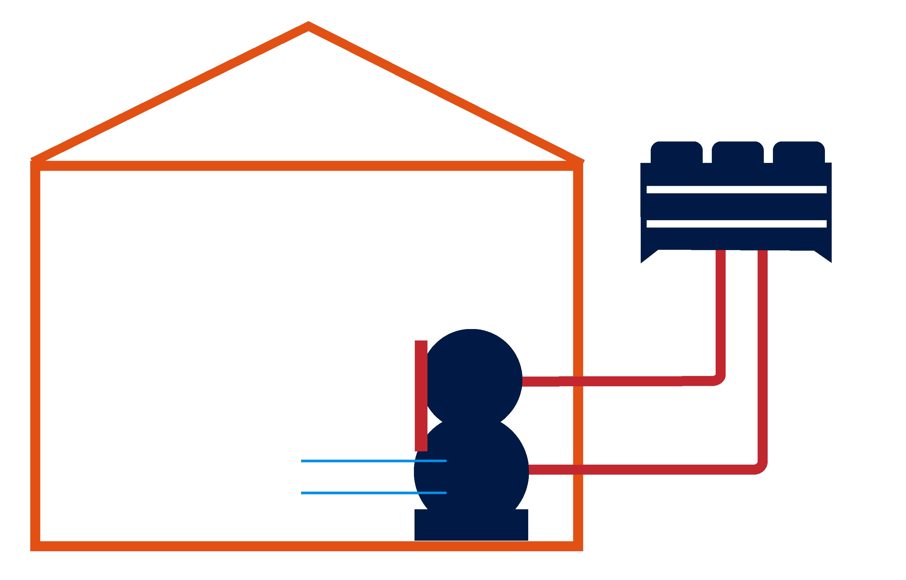 Wassergekühlt Innenaufstellung