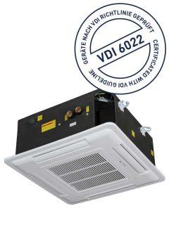 THERMO-TEC Deckenkassetten gemäß VDI 6022