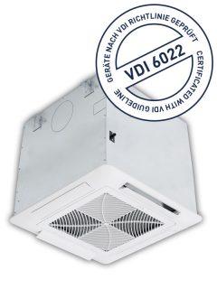 THERMO-TEC Deckenkassette gemäß VDI 6022