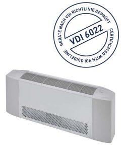 THERMO-TEC Gebläsekonvektoren gemäß VDI 6022