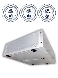 THERMO-TEC SOFFIO HYG VDI6022 VDI3803 DIN1646-4