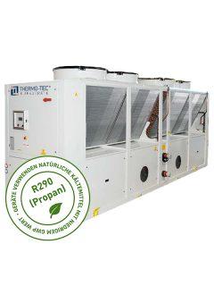 Propan Kaltwassersatz TT-RAS F mit R290 Propan und freier Kühlung