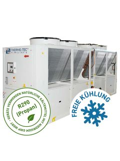 THERMO-TEC_Propan Kaltwassersatz TT-RAS F mit R290 Propan und freier Kühlung