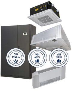 THERMO_TEC Hygienegeräte DIN1946-4 VDI6022 VDI3803